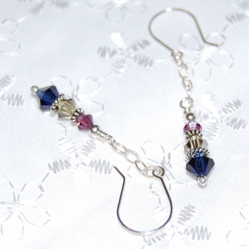 Swarovski Crystals and Sterling Silver ~ Harmony Earrings
